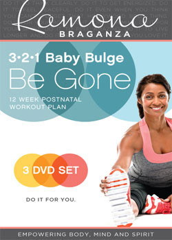 321 Baby Bulge Be Gone - 3 DVD Set