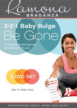 321 Baby Bulge Be Gone - 3 DVD Set